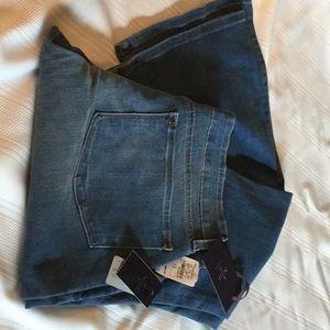 NYDJ Denim Faded Flare Jeans (10)